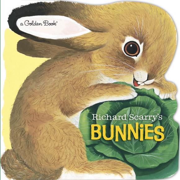 Купить Richard Scarry's Bunnies,