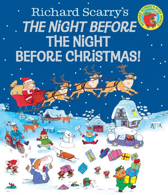 Richard Scarry's The Night Before the Night Before Christmas! richard scarry s the night before the night before christmas