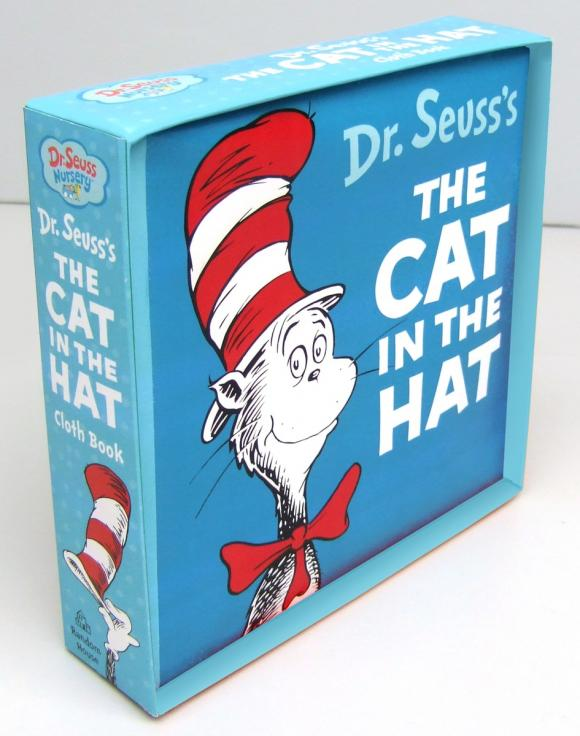 The Cat in the Hat Cloth Book the unadulterated cat