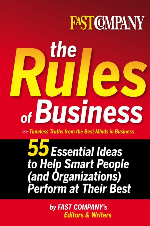Fast Company The Rules of Business
