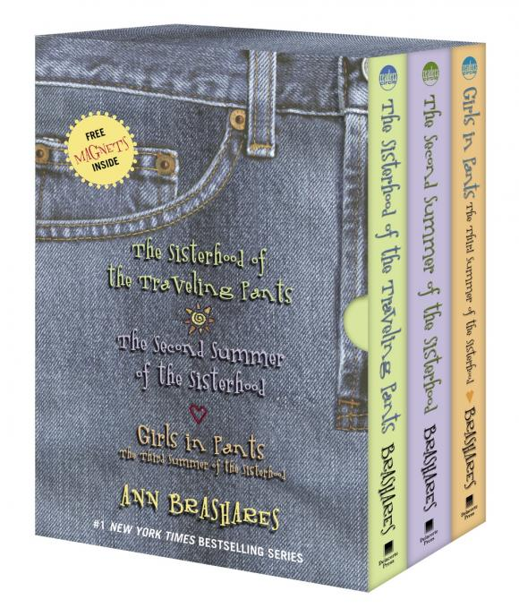 The Sisterhood of the Traveling Pants--3-book boxed set