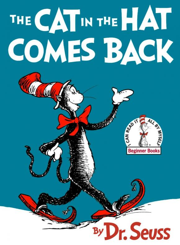 The Cat in the Hat Comes Back the unadulterated cat