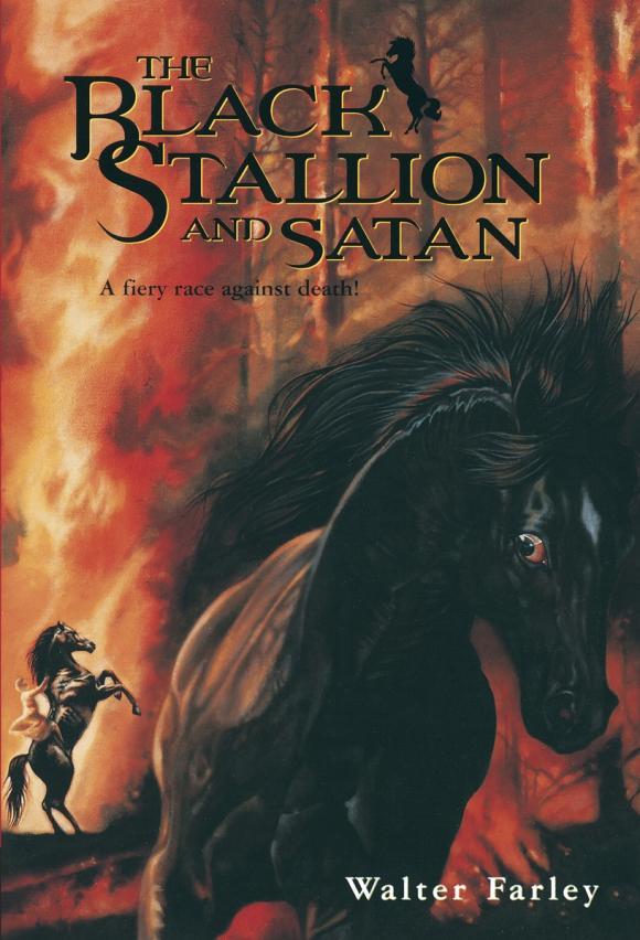 Black Stallion and Satan stallion