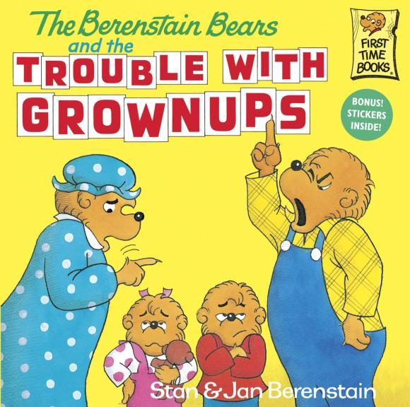 купить The Berenstain Bears and the Trouble with Grownups по цене 639 рублей