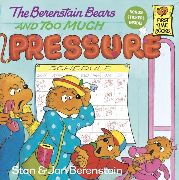 The Berenstain Bears and Too Much Pressure care bears