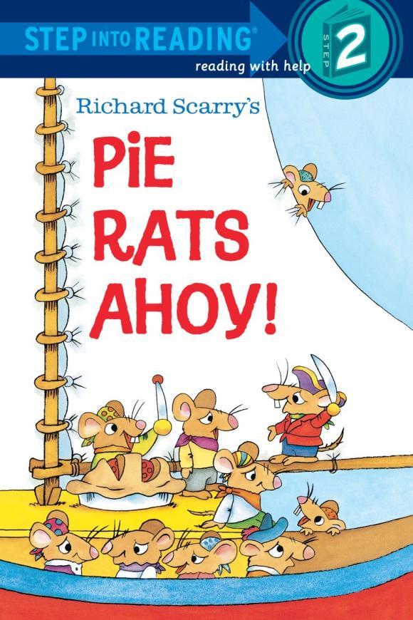 Купить Richard Scarry's Pie Rats Ahoy,