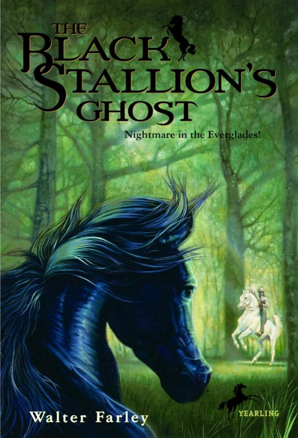 The Black Stallion's Ghost the one man