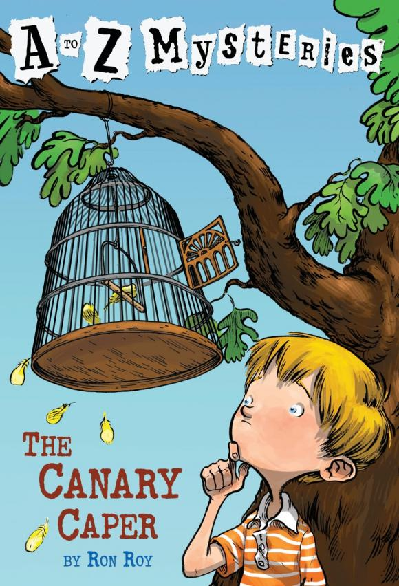 A to Z Mysteries: The Canary Caper a to z mysteries the jaguar s jewel
