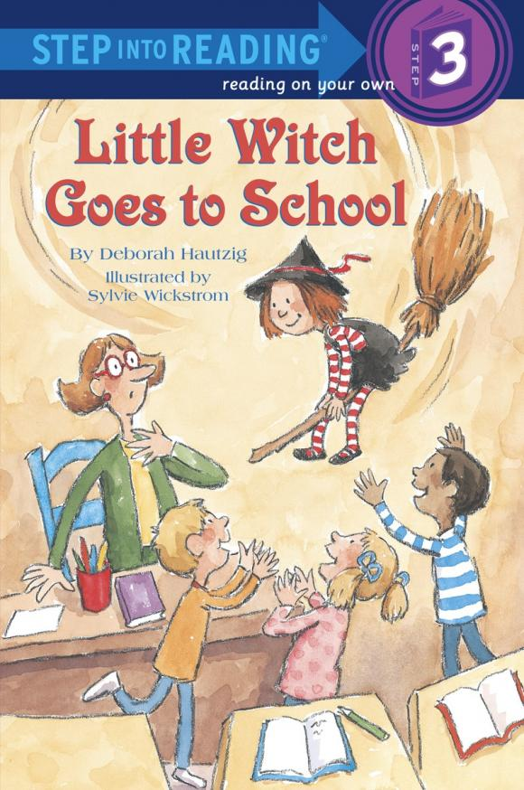 Little Witch Goes to School lucky goes to school