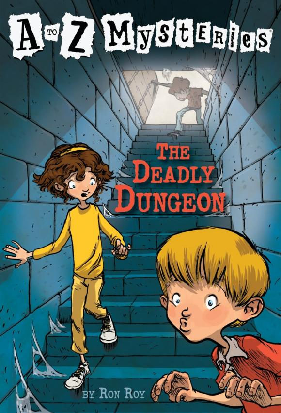 A to Z Mysteries: The Deadly Dungeon a to z mysteries the jaguar s jewel