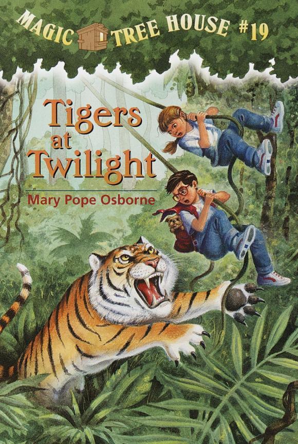 Magic Tree House #19: Tigers at Twilight magic retouch лореаль цена