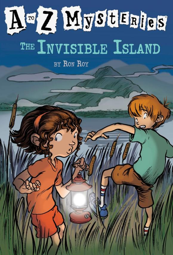 A to Z Mysteries: The Invisible Island jestern a k a alberto novello from invisible to visible