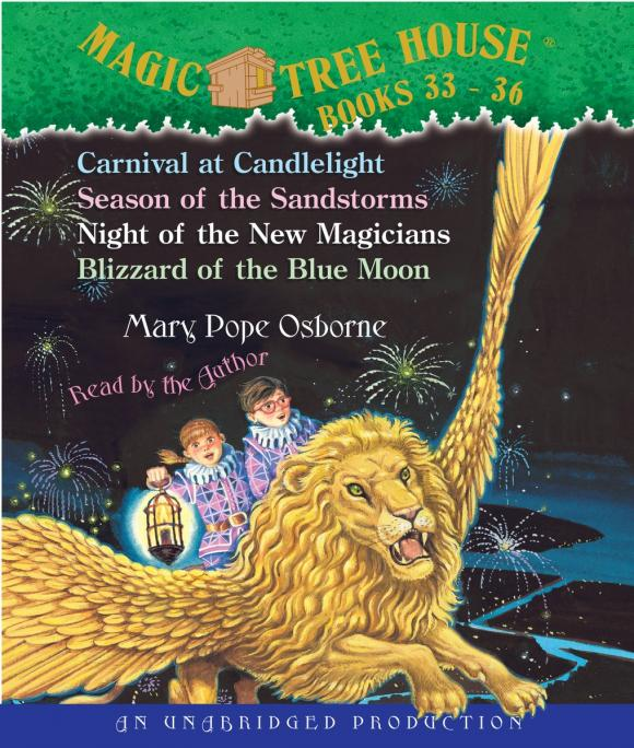 Magic Tree House: Books 33-36 mary pope osborne magic tree house cd edition books 17 24