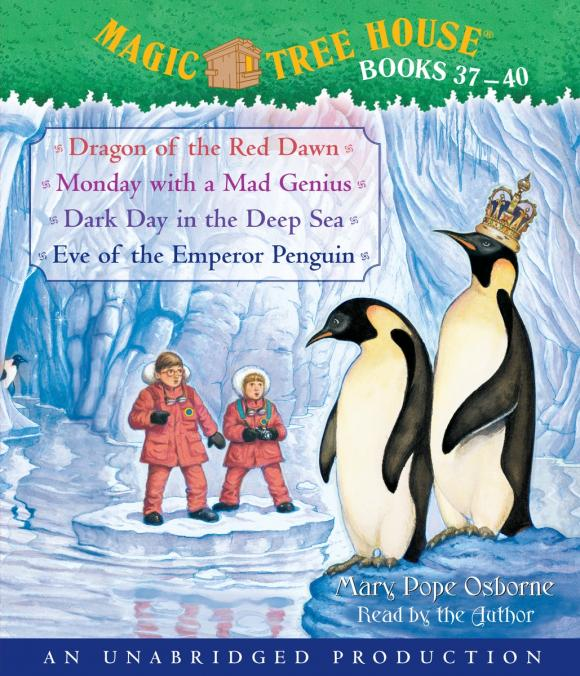 Magic Tree House Collection: Books 37-40 mary pope osborne magic tree house cd edition books 17 24