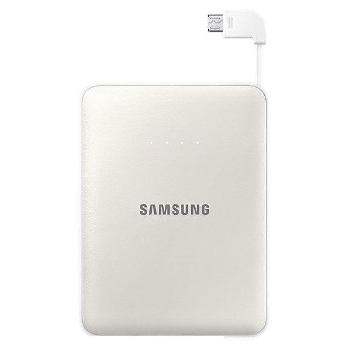 Samsung EB-PG850B, White внешний аккумуляторEB-PG850BWRGRUSamsung EB-PG850BCRGRU Pink Fox - это не просто внешний аккумулятор, но и самое настоящее украшение вашей сумки, а также забота о природе и вымирающих животных. Часть доходов от продажи этого устройства производитель направляет на сохранение вымирающих видов. Используемая в этой модели батарея обладает высокой емкостью 8400 мАч, чего достаточно для зарядки нескольких устройств. Причем делать вы можете это даже одновременно: Samsung EB-PG850B поддерживает параллельное подключение двух заряжаемых гаджетов, 5-уровневый индикатор показывает степень разряженности аккумулятора. Проверить состояние устройства можно одним нажатием клавиши. Аккумуляторные элементы Samsung SDI, используемые в этой модели, прошли тщательные испытания под контролем технических специалистов Samsung. Поэтому вы можете не волноваться о надежности устройства