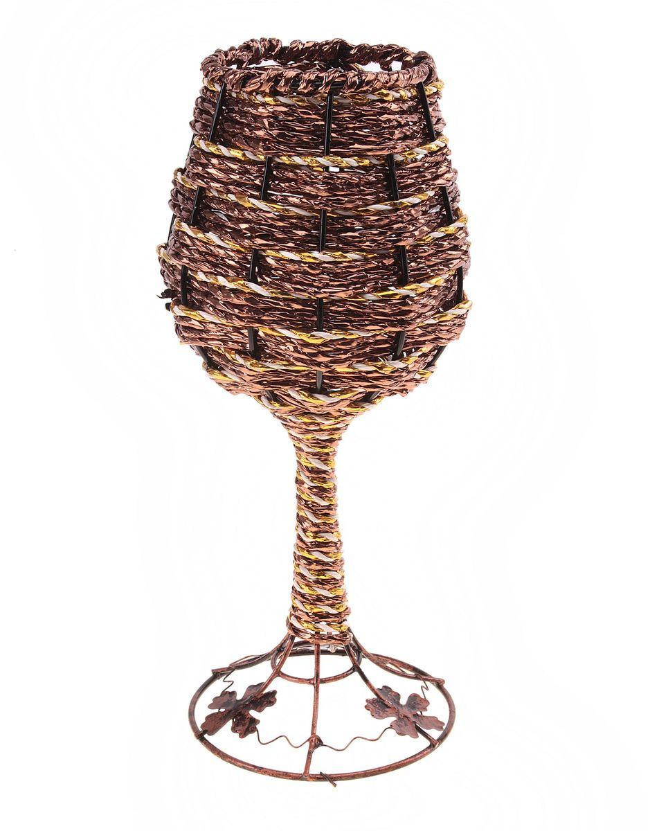 Ваза плетеная Sima-land Бокал, высота 24,5 см ваза плетеная sima land высота 17 см