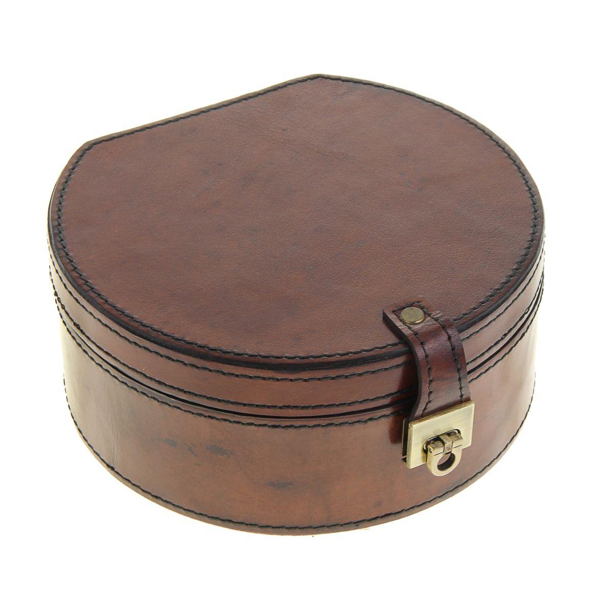 Шкатулка Sima-land, цвет: коричневый, 18 см х 16,5 см х 8 см шкатулки trousselier музыкальная шкатулка 1 отделение fairy parma
