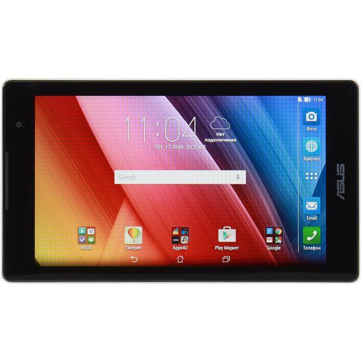 ASUS ZenPad C 7.0 Z170CG, Black (90NP01Y1-M00760)90NP01Y1-M00760ASUS ZenPad 7 Z170CG очень эргономичная модель, в ней прекрасно сочетается компактность и мощность устройства, планшет весит всего 265 грамм, при этом ширина составляет всего 8,4 мм. Такие размеры заметно выделяют ZenPad 7 Z170CG от других планшетов на рынке. Трудно представить, но в таком компактном корпусе уместился мощный четырехъядерный процессор от компании Intel, благодаря которому, вы без труда сможете делать все то, что хотели делать на вашем планшетном устройстве. Просмотр фильмов в высоком качестве, музыка, современные игры, создание презентаций, документов, чтение книг и многое другое подвластно ASUS ZenPad 7 Z170CGПрекрасный дисплей, который с легкостью сможет продемонстрировать вам яркую и сочную картинку, избавлен от бликов на солнце, вы сможете смотреть на дисплей под любым углом без потери качества изображенияОтдельно стоит упомянуть камеру дисплея, с помощью которой ваши снимки будут максимально яркие и четкие, так что вы легко сможете перепутать сделана ли фотография с планшета, или с фотоаппарата. ASUS ZenPad 7 Z170CG это идеальный выбор, как для простого пользования, так и для занятых людей, данный планшет вобрал в себя все самое лучшее от прежних моделей, и прекрасно доработал старые идеи до совершенстваПланшет сертифицирован Ростест и имеет русифицированный интерфейс, меню и Руководство пользователя.