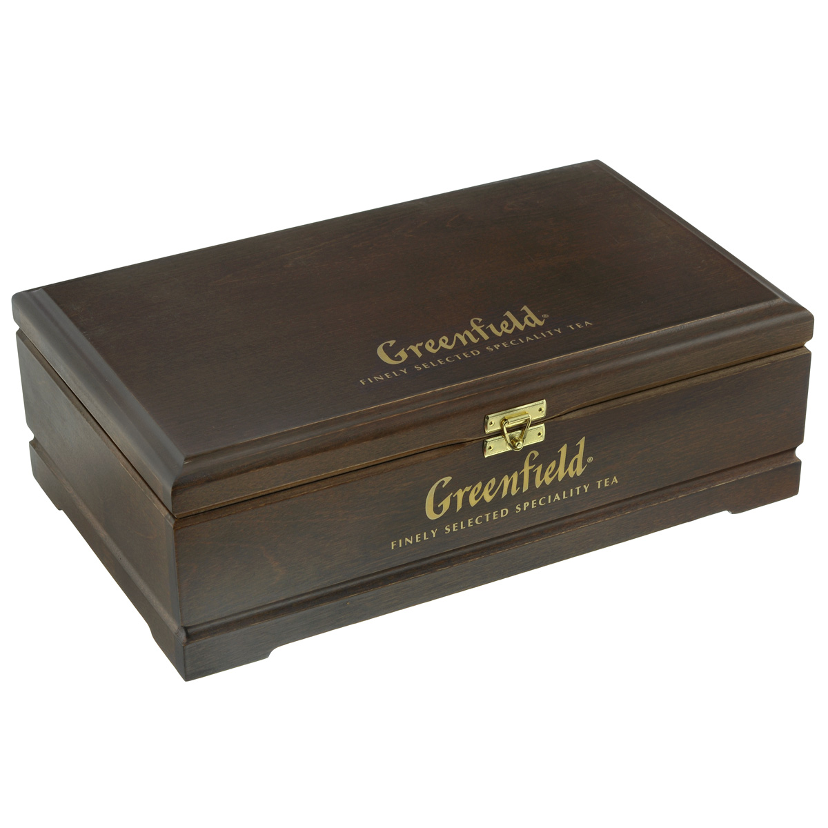 Greenfield подарочный набор: 8 видов чая, 178 г (деревянная шкатулка) greenfield jasmine dream зеленый ароматизированный листовой чай 100 г