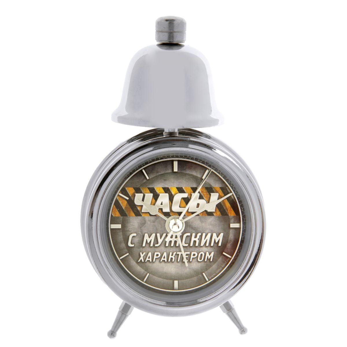 Часы-будильник Sima-land Часы с мужским характером часы будильник sima land мгновение