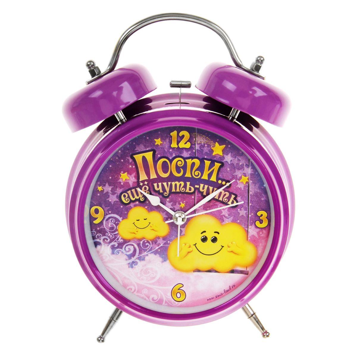 Часы-будильник Sima-land Поспи еще чуть-чуть839687Как же сложно иногда вставать вовремя! Всегда так хочется поспать еще хотябы 5 минут ибывает,что мы просыпаем. Теперь этого не случится! Яркий, оригинальный будильникSima-land Поспи еще чуть-чуть поможет вам всегдавставать в нужное время и успевать везде и всюду. Такой будильник также станет прекрасным подарком.На задней панели будильника расположеныпереключатель включения/выключения механизма и два колесика для настройкитекущего времени и времени звонка будильника. Также будильник оснащенкнопкой, при нажатии и удержании которой подсвечивается циферблат. Будильник работает от 1 батарейки типа AA напряжением 1,5V (не входит вкомплект).