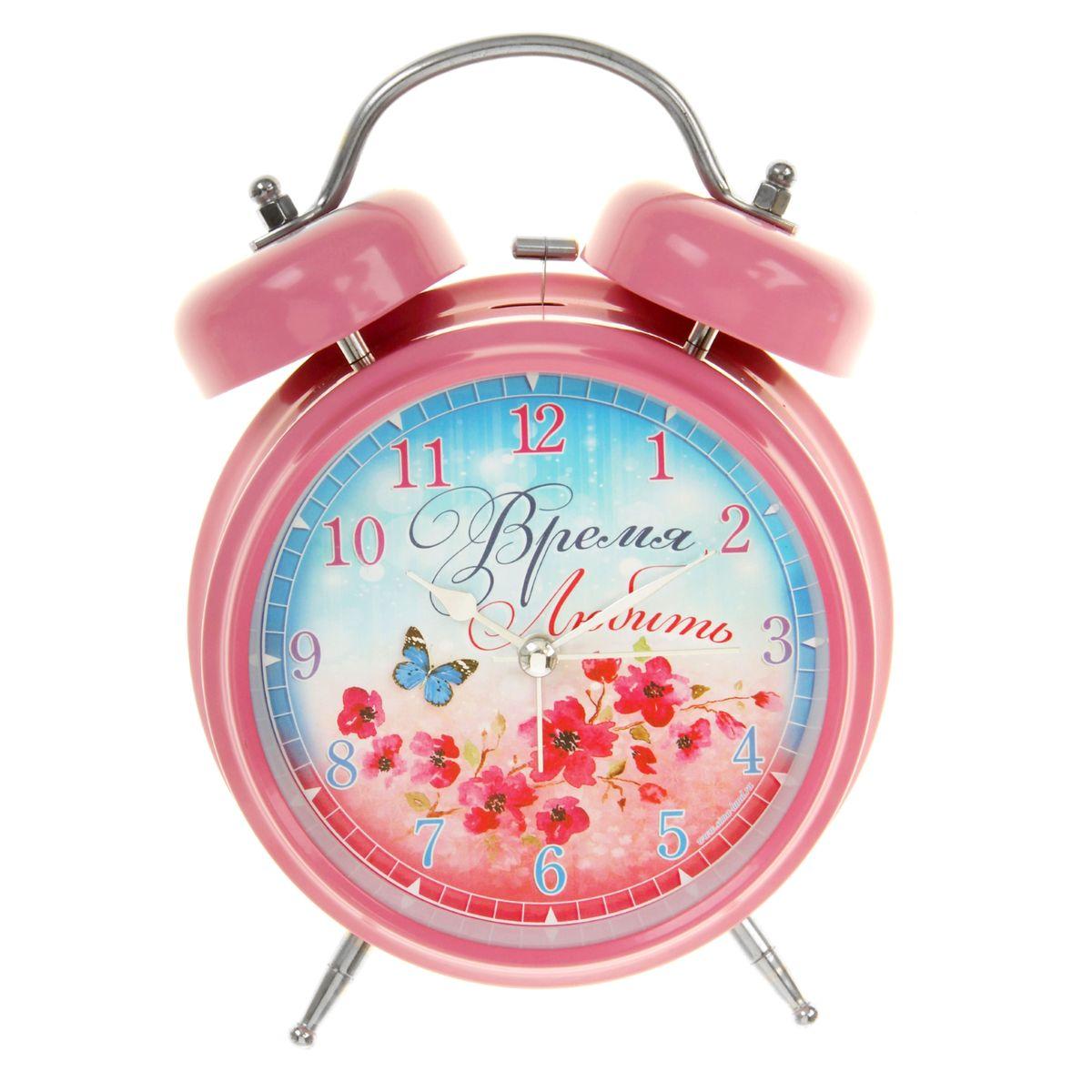 Часы-будильник Sima-land Время любить часы будильник sima land жду встречи