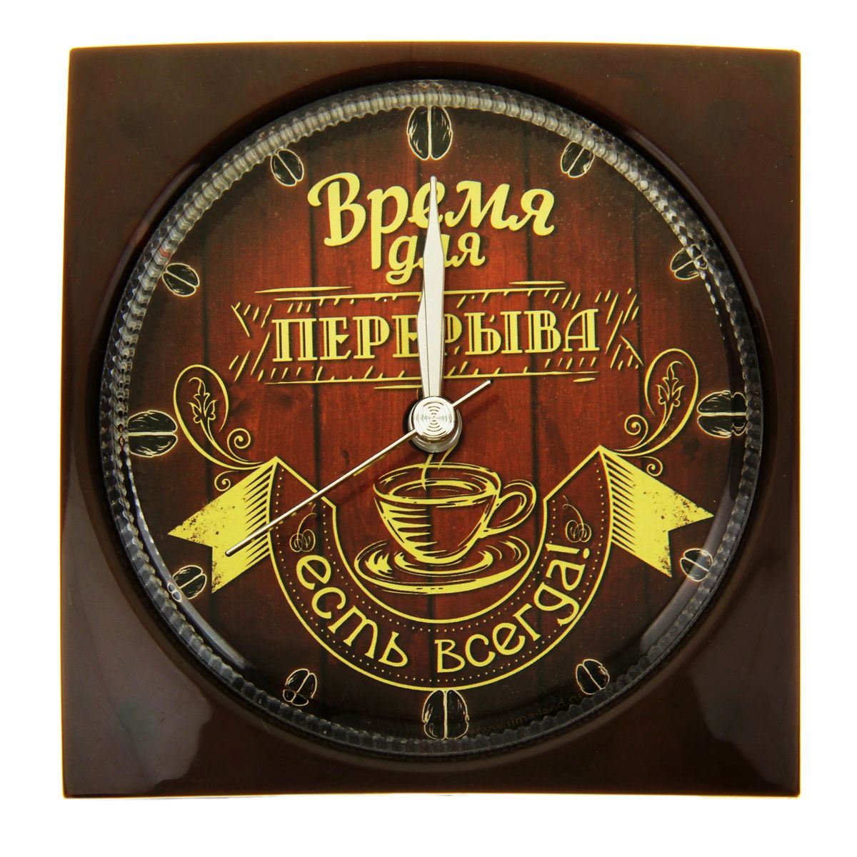 Часы-будильник Sima-land Время для перерыва часы будильник sima land жду встречи