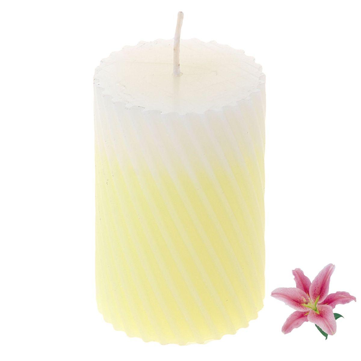 Свеча ароматизированная Sima-land Лилия, высота 7,5 см. 849542 свеча ароматизированная sima land шиповник высота 7 5 см 907667