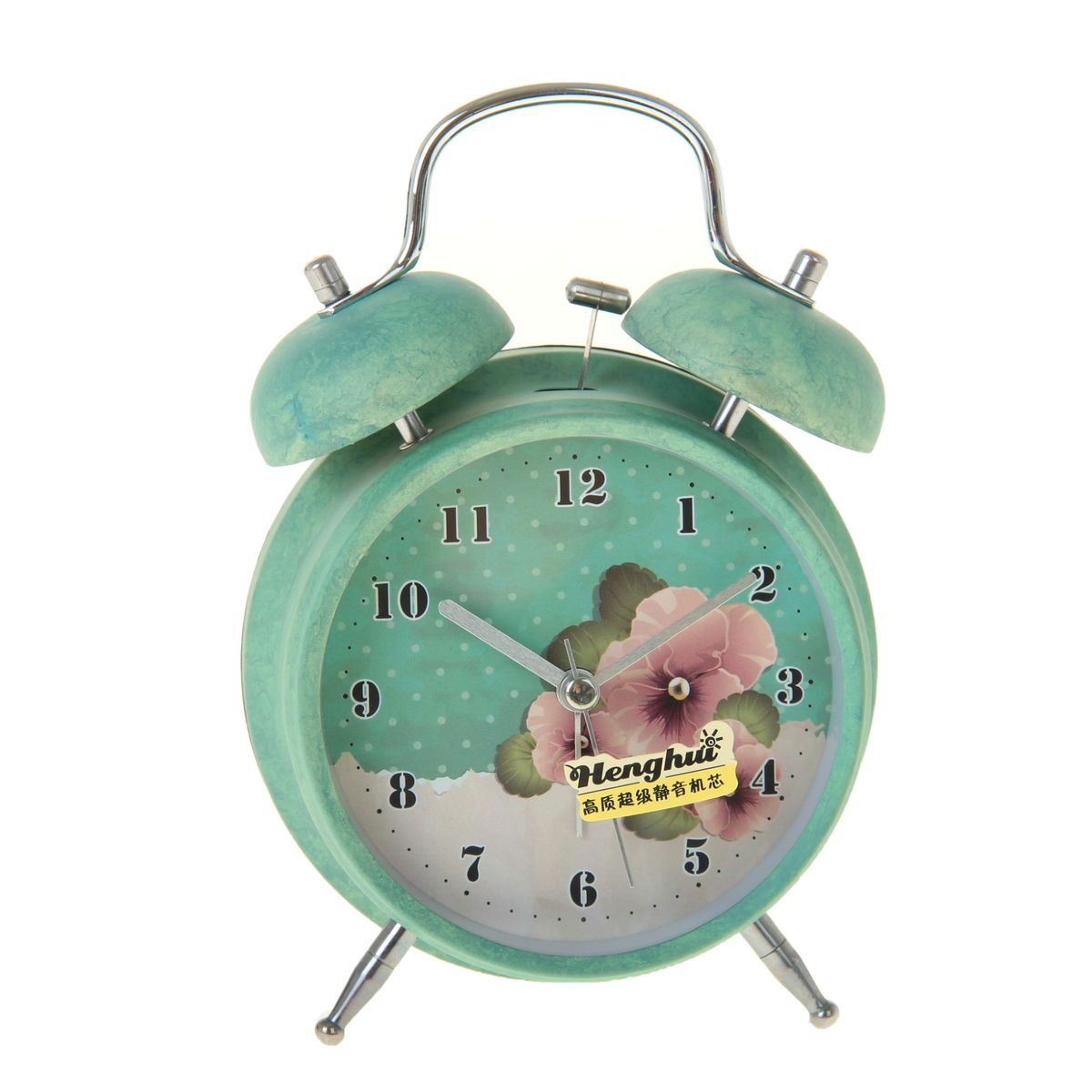 Часы-будильник Sima-land. 906610906610Как же сложно иногда вставать вовремя! Всегда так хочется поспать еще хотя бы 5 минут и бывает, что мы просыпаем. Теперь этого не случится! Яркий, оригинальный будильник Sima-land поможет вам всегда вставать в нужное время и успевать везде и всюду. Время показывает точно и будит в установленный час. Будильник украсит вашу комнату и приведет в восхищение друзей. На задней панели будильника расположены переключатель включения/выключения механизма и два колесика для настройки текущего времени и времени звонка будильника. Также будильник оснащен кнопкой, при нажатии и удержании которой, подсвечивается циферблат.Будильник работает от 1 батарейки типа AA напряжением 1,5V (не входит в комплект).