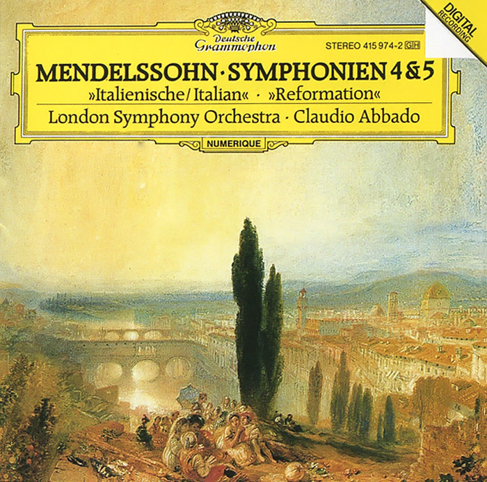 Клаудио Аббадо,The London Symphony Orchestra Claudio Abbado. Mendelssohn. Symphonien 4 & 5 claudio abbado sting prokofiev peter and the wolf