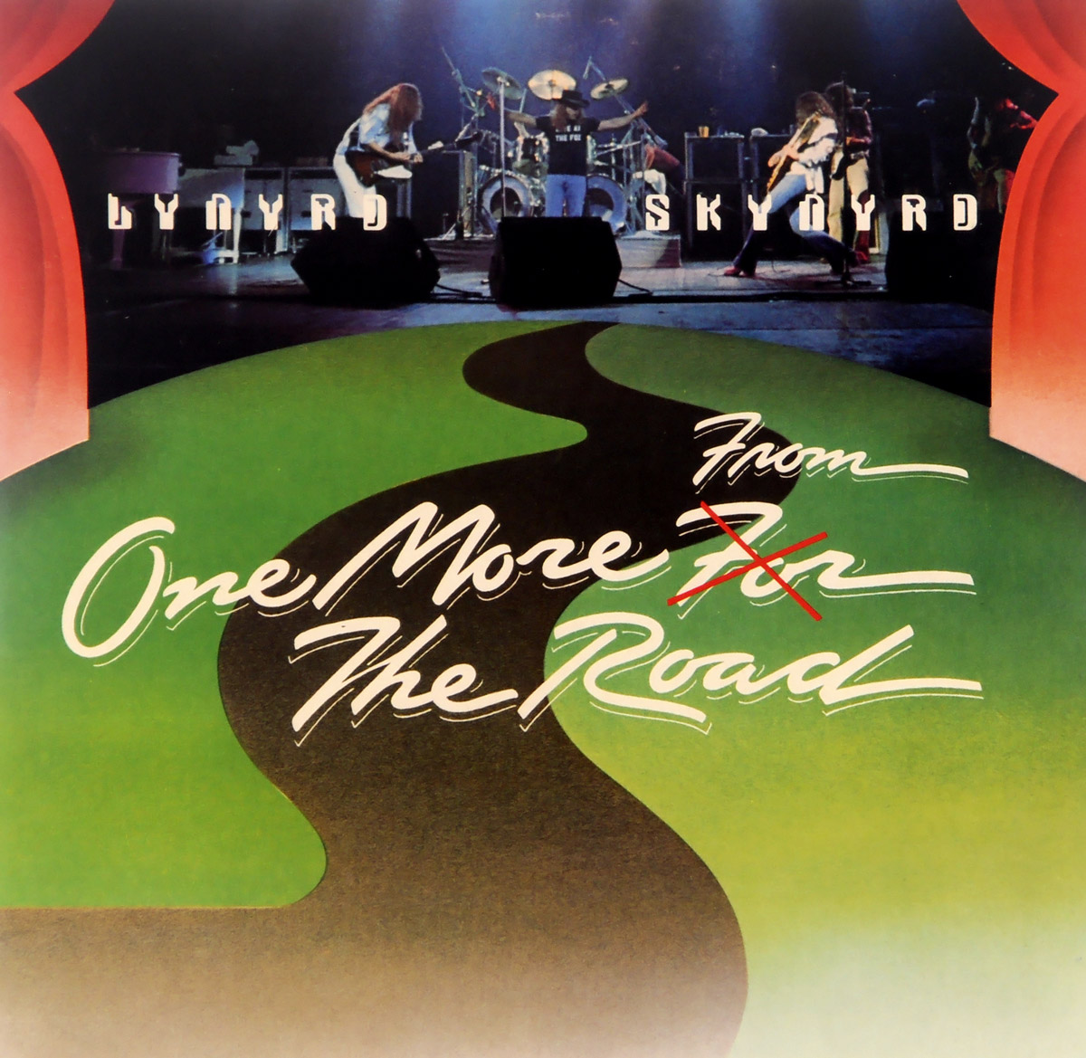Lynyrd Skynyrd Lynyrd Skynyrd. One More From The Road (2 LP) the mirror crack d from side to side level 4 cd