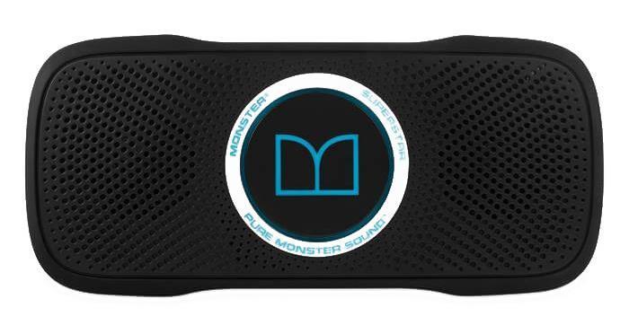 Monster SuperStar BackFloat, Black Blue портативная акустическая система - Портативная акустика