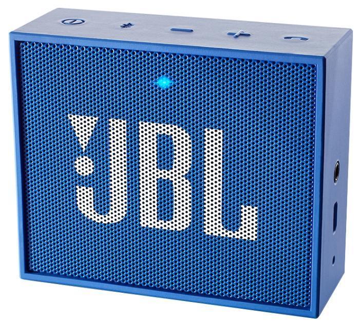 JBL GO, Blue портативная акустическая системаJBLGOBLUEЭтот динамик является удобным решением все-в-одном. Он поддерживает Bluetooth, что позволяет подключать его к любым современным гаджетам, а встроенный аккумулятор подарит вам 5 часов музыки без перерыва. JBL GO также оснащен встроенным микрофоном с технологией шумоподавления, что позволяет вам общаться по телефону по громкой связи. Доступный в 8 ярких расцветках, в прорезиненном корпусе и фирменном стиле JBL, этот портативный динамик подойдет любому, кто любит качественный звук и портативность. GO оснащен креплением, за которое динамик можно прицепить к рюкзаку или одежде. Теперь вы можете никогда не расставаться с любимой музыкой.
