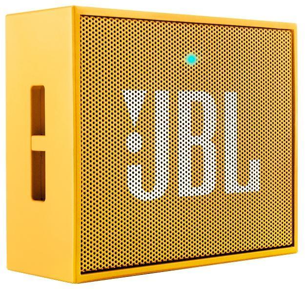JBL GO, Yellow портативная акустическая системаJBLGOYELЭтот динамик является удобным решением все-в-одном. Он поддерживает Bluetooth, что позволяет подключать его к любым современным гаджетам, а встроенный аккумулятор подарит вам 5 часов музыки без перерыва. JBL GO также оснащен встроенным микрофоном с технологией шумоподавления, что позволяет вам общаться по телефону по громкой связи. Доступный в 8 ярких расцветках, в прорезиненном корпусе и фирменном стиле JBL, этот портативный динамик подойдет любому, кто любит качественный звук и портативность. GO оснащен креплением, за которое динамик можно прицепить к рюкзаку или одежде. Теперь вы можете никогда не расставаться с любимой музыкой.