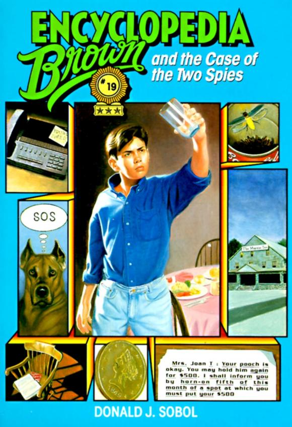 Encyclopedia Brown and the Case of the Two Spies port of spies 4