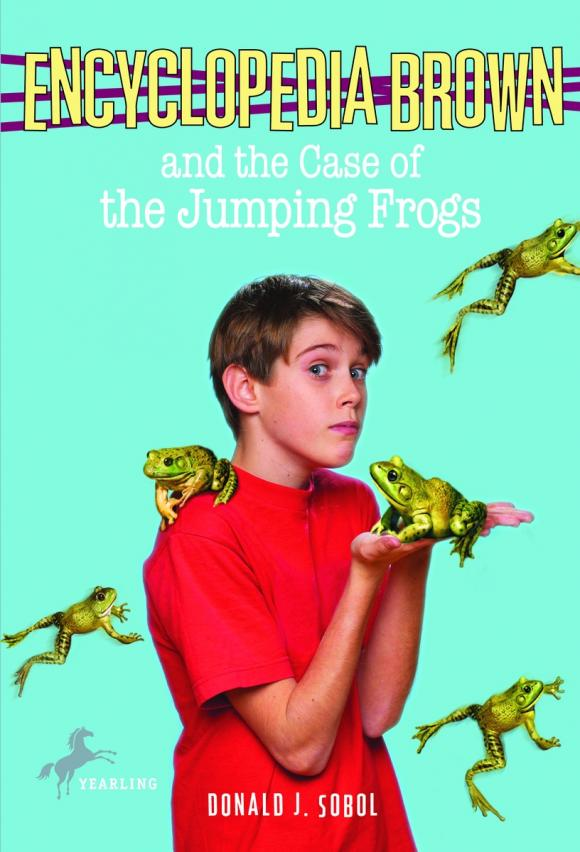 Encyclopedia Brown and the Case of the Jumping Frogs aristophanes the frogs