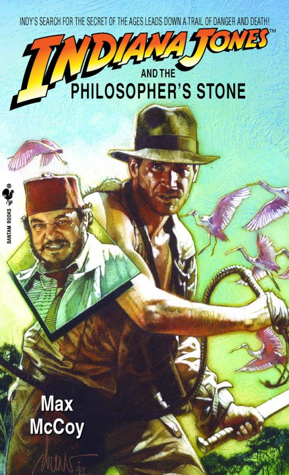 Indiana Jones and the Philosopher's Stone manuscript found in accra