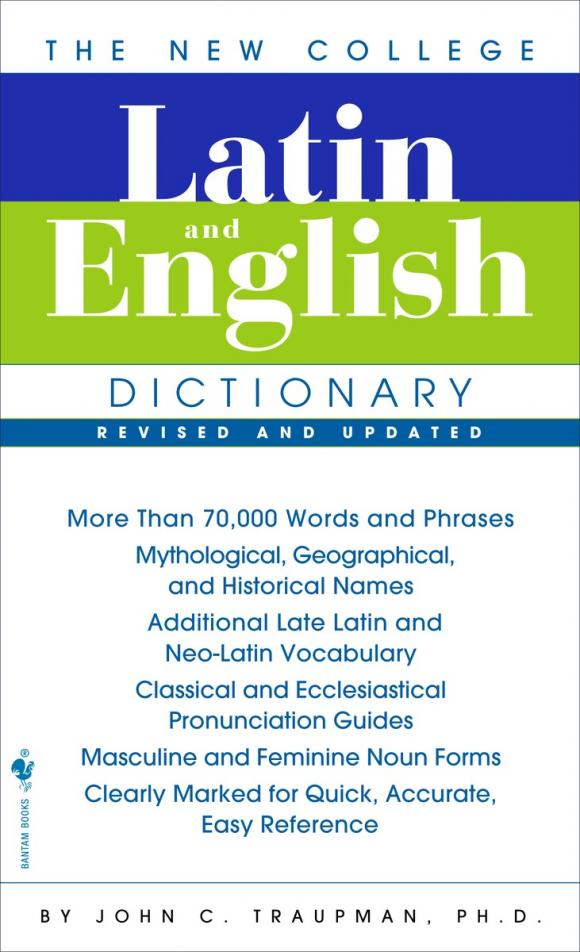 The Bantam New College Latin & English Dictionary, Revised Edition mastering english prepositions