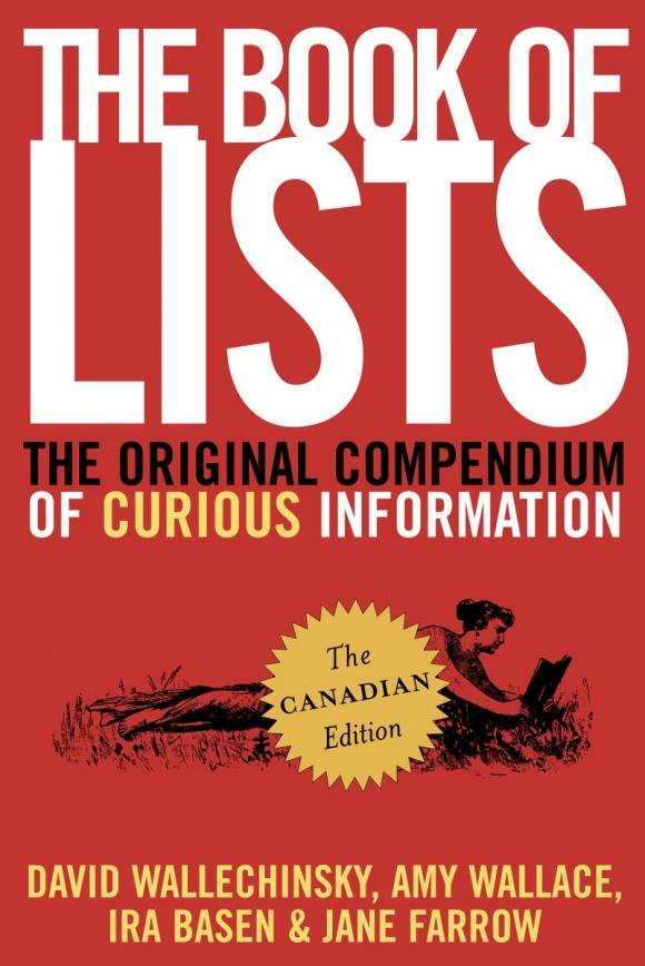 The Book of Lists, The Canadian Edition edward fry b the reading teacher s book of lists