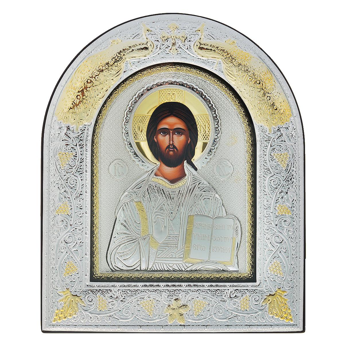 Икона Господь Вседержитель, 30 см х 25,2 см