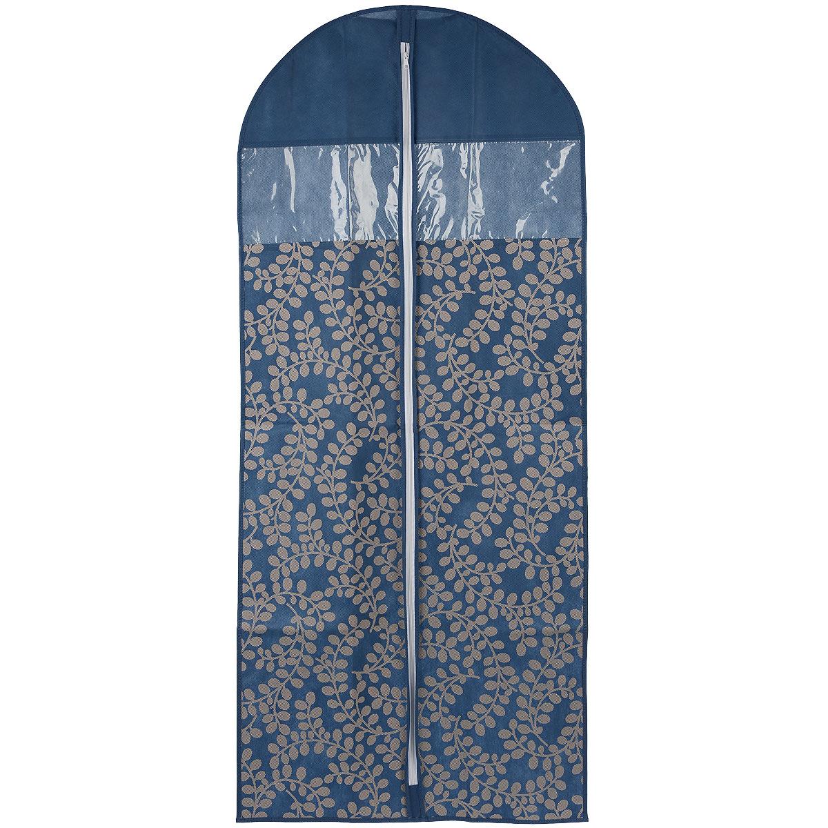 Чехол для пальто Cosatto Флораль, цвет: синий, 137 см х 60 смCOVLCATF10 голубойЧехол для пальто Cosatto Флораль изготовлен из дышащего нетканого материала (полипропилен), безопасного в использовании. Предназначен для хранения пальто и другой длинной верхней одежды. Имеет два прозрачных окна, застежку-молнию и специальное отверстие для крючка вешалки. Красивый растительный узор придает изделию изысканный внешний вид. Материал можно протирать в случае загрязнения влажной тряпкой.