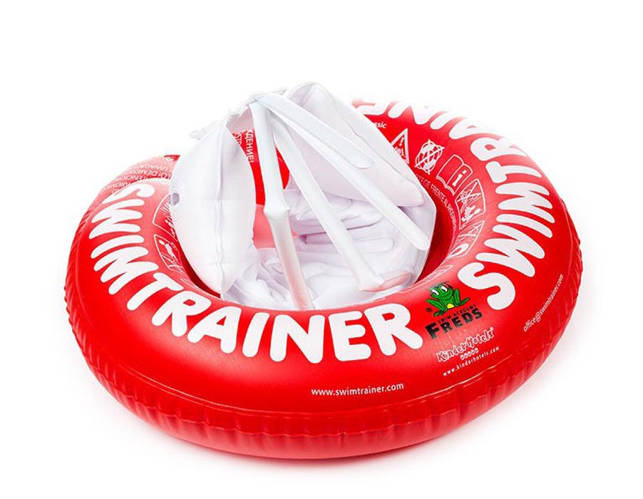 Круг надувной Swimtrainer  Classic , от 3 месяцев до 4 лет, цвет: красный. 10110 - Все для купания
