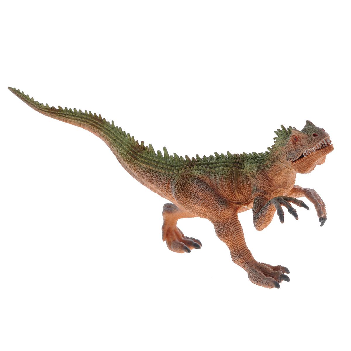 Фигурка Megasaurs Заурофагнакс с двигающейся пастью, цвет: оранжевый hgl фигурка черепаха с подсветкой цвет ярко оранжевый