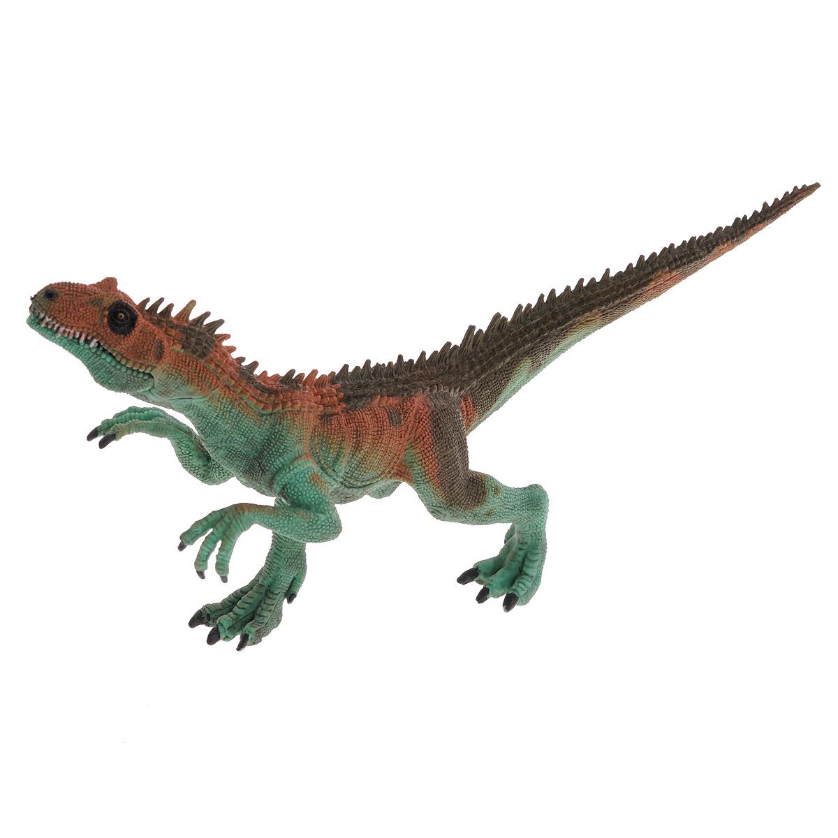 Фигурка Megasaurs Заурофагнакс с двигающейся пастью, цвет: зеленый фигурка megasaurs тираннозавр с двигающейся пастью цвет оранжевый зеленый