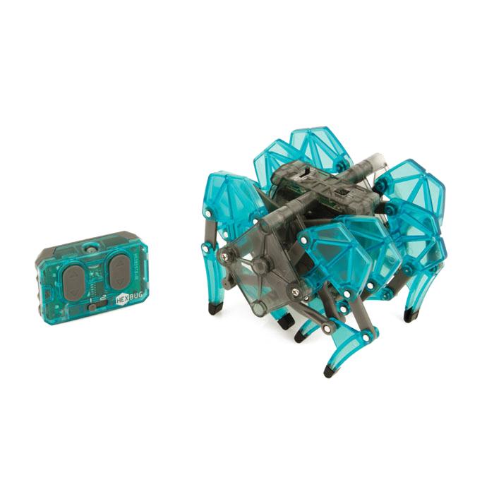 Микро-робот Hexbug Strandbeest, цвет: бирюзовый deskpets микро робот скитербот цвет зеленый