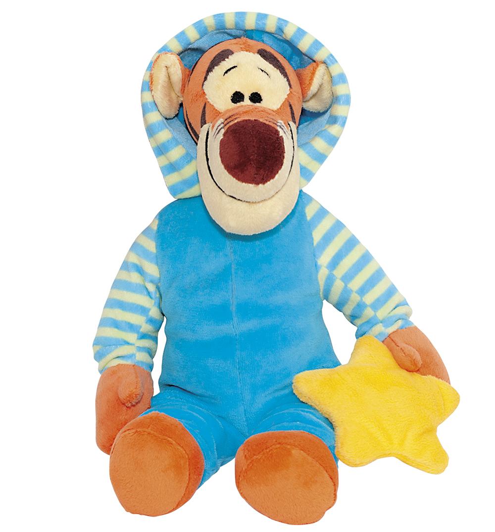 Сонный Тигруля. Мягкая музыкальная игрушка, 35 см disney мягкая игрушка тигруля 35 см винни пух