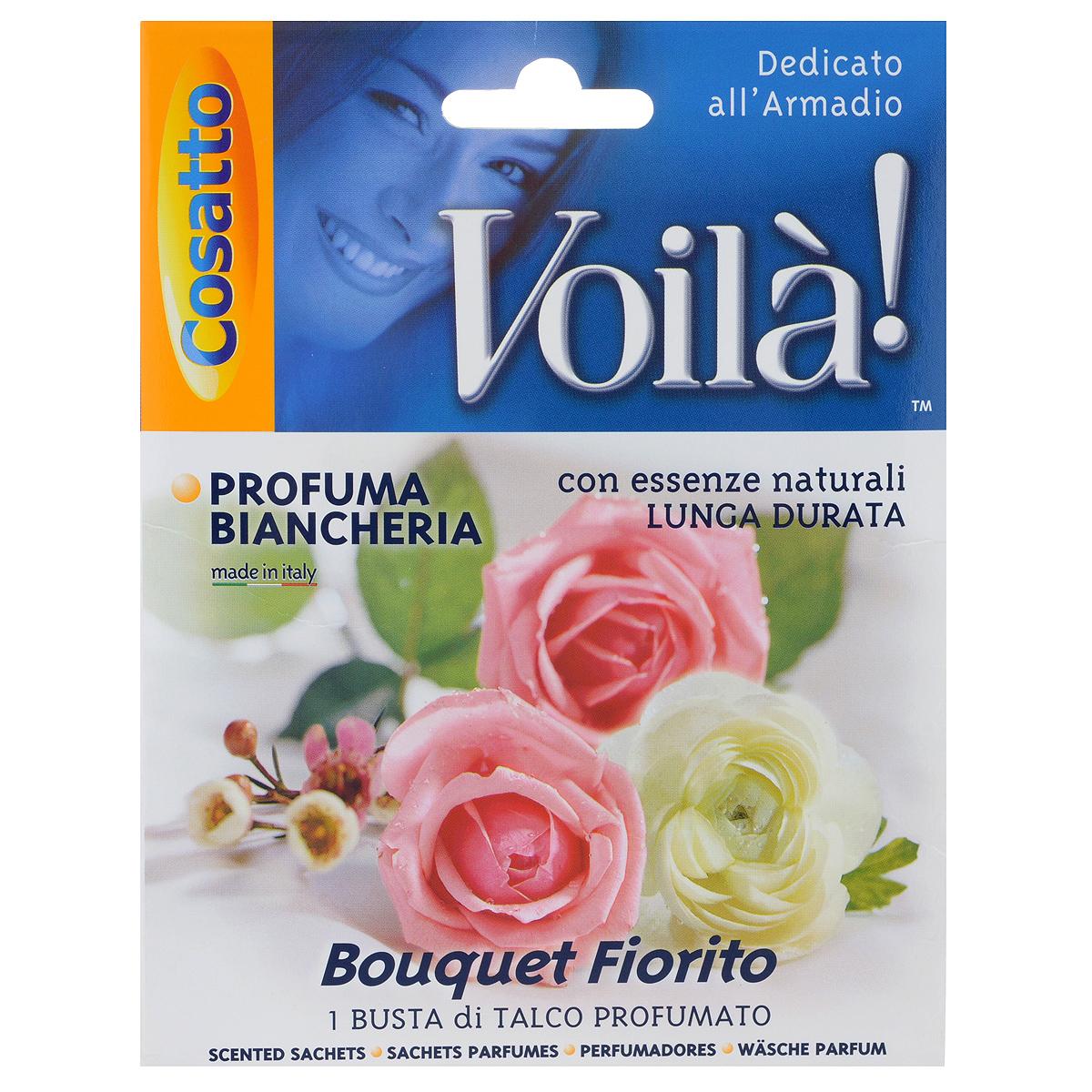 Ароматизатор для шкафа Voila РозыCOVLPB0001 розыАроматические саше Voila Розы создадут длительный тонкий запах в гардеробах, шкафах, ящиках, автомобиле и любых небольших помещениях. Заполненные тальком с натуральными эссенциями пакетики саше естественные для восприятия, освежающие природные ароматы устраняют неприятные запахи.