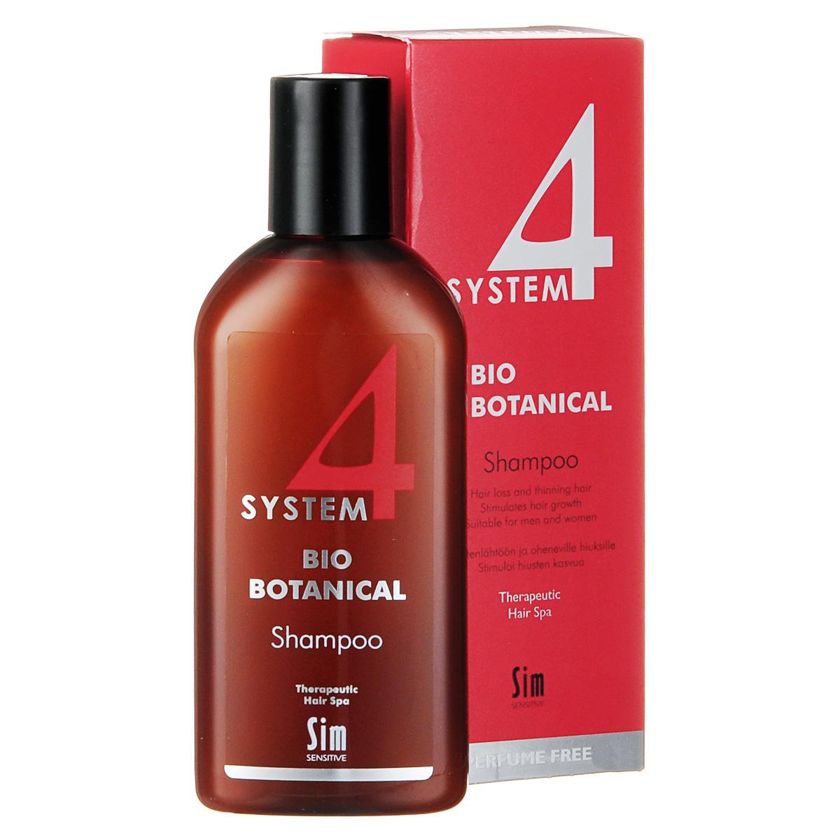 SIM SENSITIVE Био Ботанический Шампунь SYSTEM 4 Bio Botanical Shampoo Био, 215мл5320