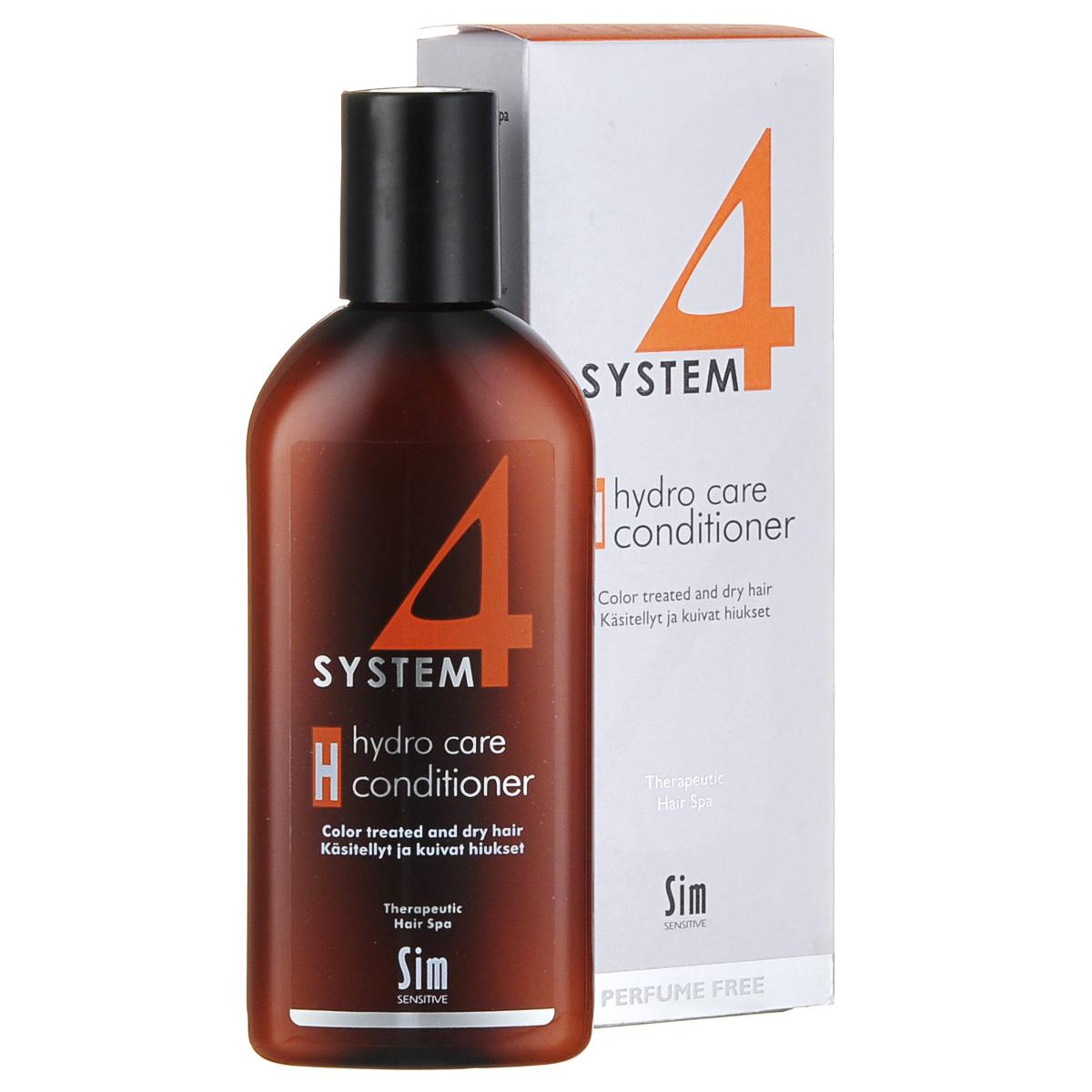 SIM SENSITIVE Терапевтический бальзам H SYSTEM 4 Hydro Care Conditioner «Н» , 215 мл sim sensitive восстановление волос r system 4 chitosan hair repair r 100 мл