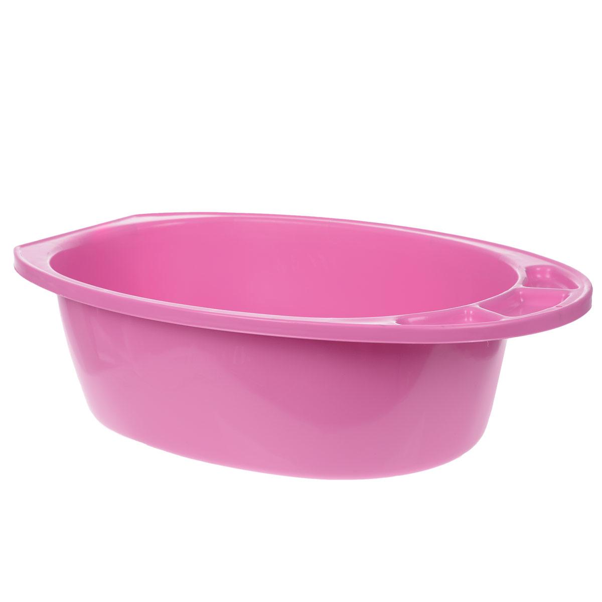 Ванночка детская М-пластика Морские обитатели, цвет: розовый м пластика